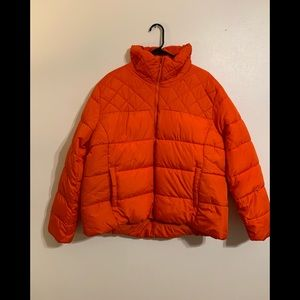 Woman's old navy coat